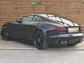 Jaguar F-type 5.0 Supercharged V8 R 2dr Auto STUNNING EXAMPLE (ebony black) 2014