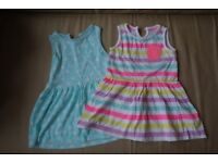 2 summer dresses 2/3 years
