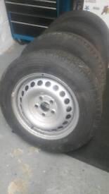 VW T5.1 Transporter wheels