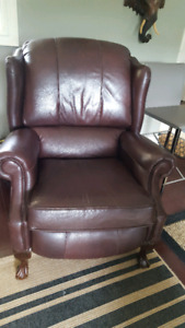 2 Dark Brown Recliners