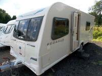 Bailey Pegasus II Verona 2011 4 Berth Touring Caravan - Fixed Bed End Washroom