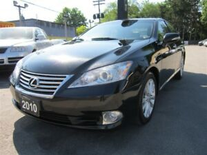 2010 Lexus ES 350 NAVIGATION SYSTEM/111KMS/SUNROOF/LEATHER/AUTO!