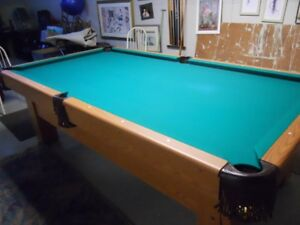Pool Table with Slate top