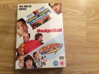 Three must see comedies 3 DVD box set