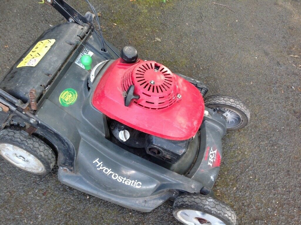 Honda HRX 537 Petrol mowerin Tredegar, Blaenau GwentGumtree - Honda HRX 537 Petrol mower I cant start this myself but I believe its only down to the fact that Im female and havent quite got the right technique, my son can start it no problem The muffler cover has come off but is included and just needs fixing...