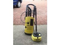 Karcher power washer model kv9050 plus rotary brush for cleaning patios & decking
