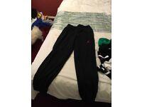 Jordan pants black medium size