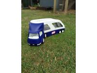 Little tikes transporter lorry and two cars