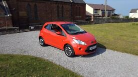 09 REG FORD KA STYLE 1.2 PETROL 5DR RED MOT-18 2-OWNERS SHOWROOM-CONDITION FREE-DELIVERY VERY CHEAP