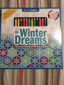 Winter Dreams - Coloring book for Adults