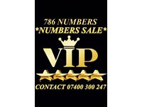 GOLD VIP 786 MOBILE NUMBERS UK