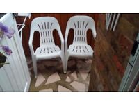 Chairs for garden in wood Green