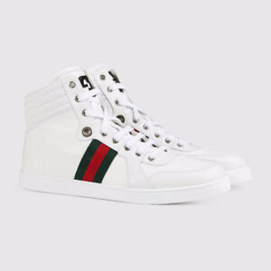 Brand New Gucci Leather high-top sneaker