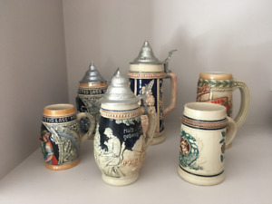 Antique German Beer Steins
