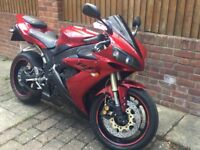 Yamaha R1 clean private plate