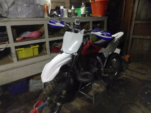 Husqvarna WR 250 trade for four stroke
