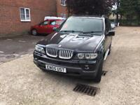 BMW X5 3.0 d Sport 5dr BLACK 2005 HEATED LEATHERS ****AUTOMATIC DIESEL ****WITH FULL MOT