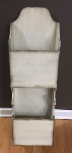 Shabby chic wall letter/file organizer