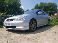 Honda civic type r ep3 low milage **timing chain done**