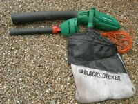 BLACK AND DECKER GW250 LEAF BLOWER AND VACUUM USED BUT IN GOOD WORKING ORDER