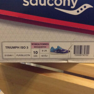 LIKE NEW WMNS SAUCONY TRIUMP ISO3
