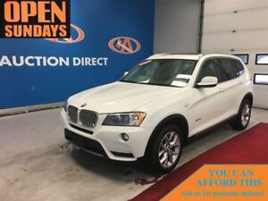 2014 BMW X3 xDrive28i PANO SUNROOF! FINANCE NOW!