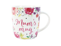 Floral mum's mug - brand new in box