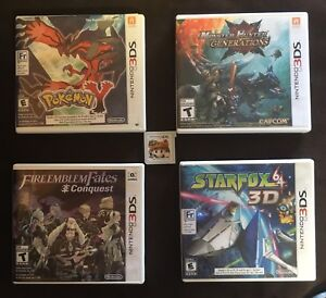 5 Really good Nintendo 3DS games $120 Obo for all