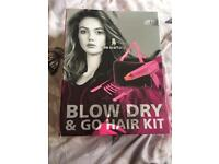 Hair dyer kit