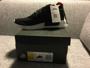 NMD R2 - Core Black / Future Harvest - Size 7