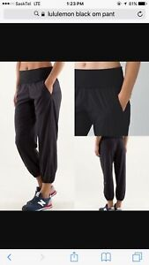 BRAND NEW CONDITION LULULEMON OM PANTS AMAZING MATERIAL