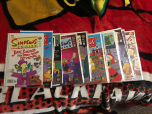 Simpsons comics lot!