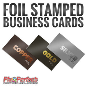 ★Hot Foil Stamping Business Card Printing ✂$5 OFF COUPON