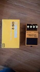 Boss OS-2 Overdrive / Distortion Guitar Effects Pedal