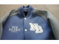 NB NEW BALANCE Varsity baseball style jacket NEW med