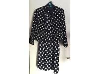 ***FOR SALE NEW LOOK MATERNITY DRESS & ATMOSPHERE MATCHING CROPPED SPOTTY JACKET***