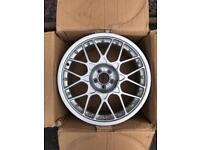 """Genuine Audi TT Mk1 18"""" BBS Split Rim Alloy Wheel RS2 5x100 ET33 Seat Skoda VW *MINT*"""