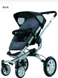 Quinny Buzz pram and carrycot
