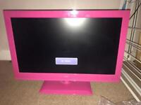 """Logik 22"""" Full HD LED TV with built in DVD player"""