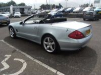 2003 03 MERCEDES-BENZ SL 5.0 SL500 2D AUTO 306 BHP **** GUARANTEED FINANCE **** PART EX WELCOME ****