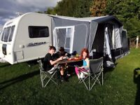 Caravan porch awning by Quest Elite