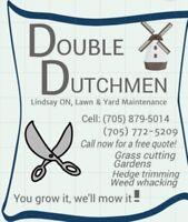 Double Dutchmen, lawn & yard maintenance