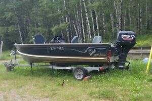 16' LUND- GREAT FISHING BOAT