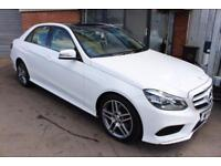 Mercedes E220 CDI AMG SPORT-SATNAV-PAN ROOF-SPECIAL ORDER LEATHER