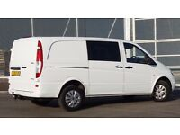 MERCEDES VITO CDI DUALINER 6 SEATER LONG WHEEL BASE 2010,88600 MILES, NO VAT, READY FOR WORK