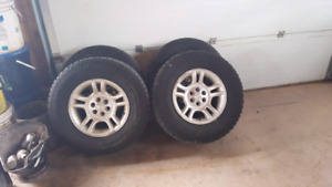 "16"" dodge Dakota or Durango rims"