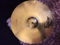Set of cymbals