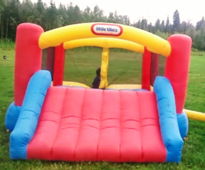 Little tykes bouncy house