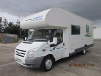 2007 CHAUSSON FLASH09 7 BERTH 6 SPEED MOTORHOME WITH 140BHP AND ONLY 15K MILES