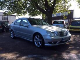 Mercedes c200 SPORT EDITION 1.8 Automatic full service history full MOT 6 MONTHS WARRANTY
